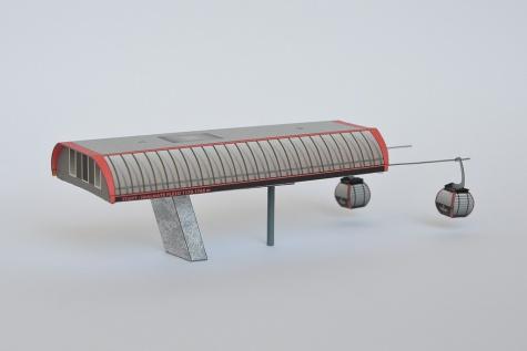 Kabínková lanovka Štart - Skalnaté Pleso
