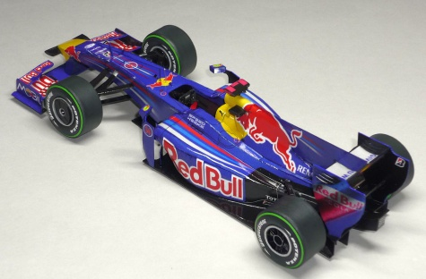 Red Bull RB5 - Mark Webber - 2009