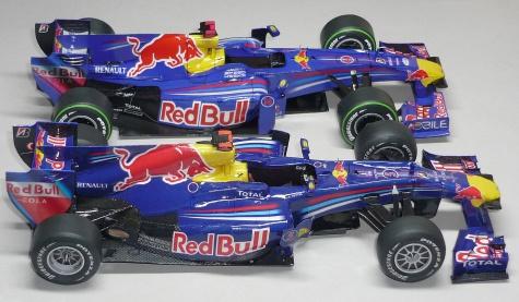 Red Bull RB6 -  Sebastian Vettel - GP Španělska 2010