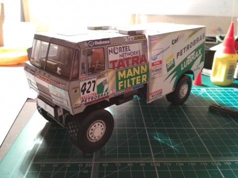 TATRA 815 4 X 4 Dakar  2001