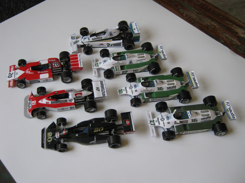 Williams FW 02,04,05,06