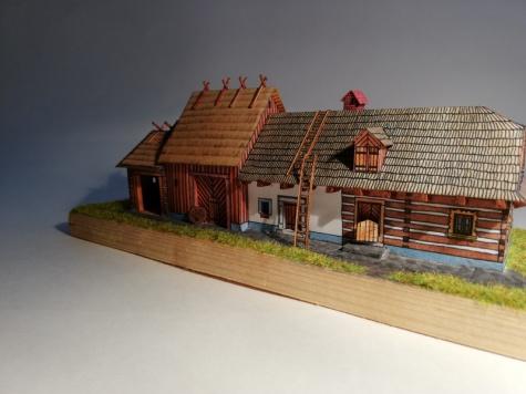 Chalupnická usedlost z Litomyšlska