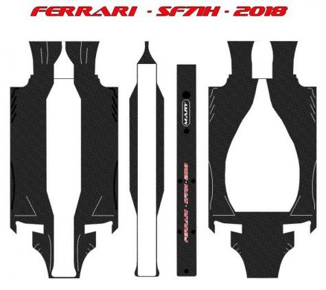 FERRARI SF71H  -  Kimi i Sebi