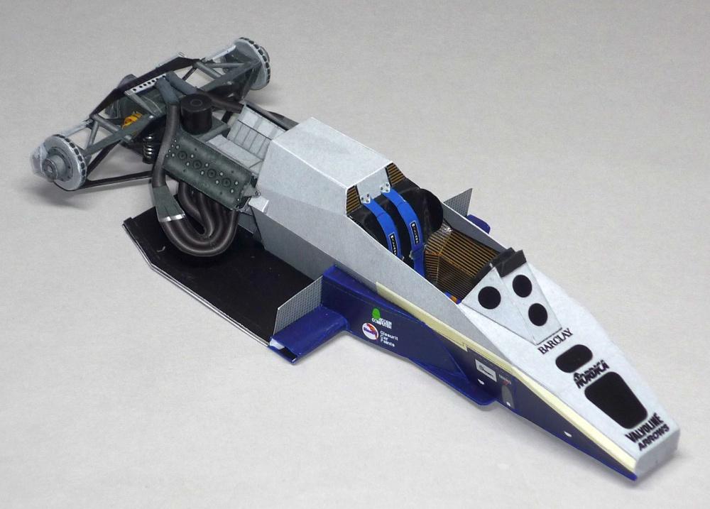Arrows A6 - Marc Surer - GP USA East 1984