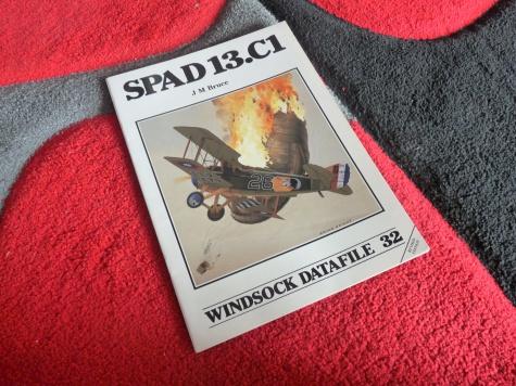 SPAD XIII  - Francesco Baracca 91a Sqadriglia, Itálie, červen 1918
