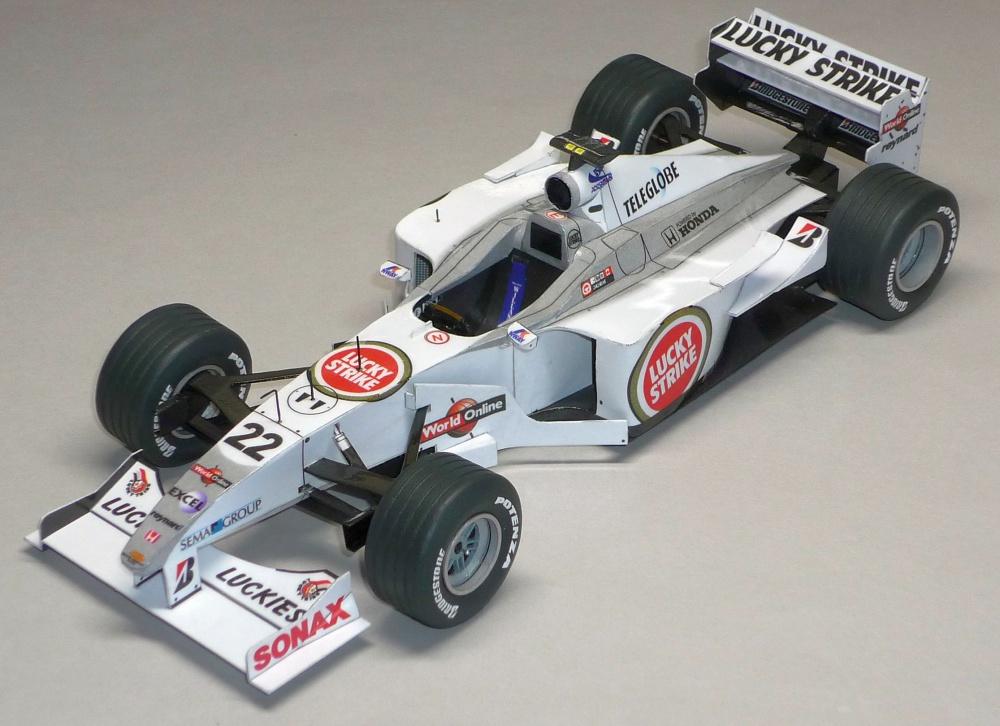 BAR 002 - Jacques Villeneuve - 2000