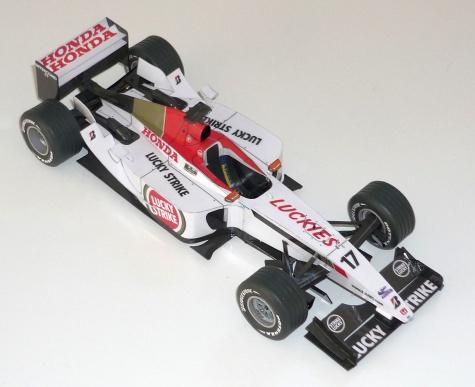 BAR 001 - Jenson Button - 2003