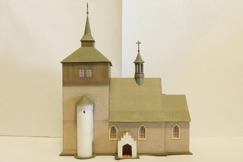 Kostel sv. Vavřince - Březina