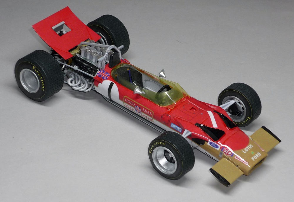 Lotus 49B MKIII - Graham Hill - Monako 1969