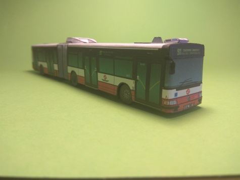 Irisbus City bus 18M DP Praha
