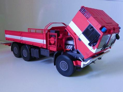 Evakuační valník s hydraulickým čelem Tatra 815-7 6x6