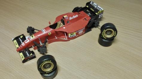 Ferrari 412T2 - 1995 - Jean Alesi