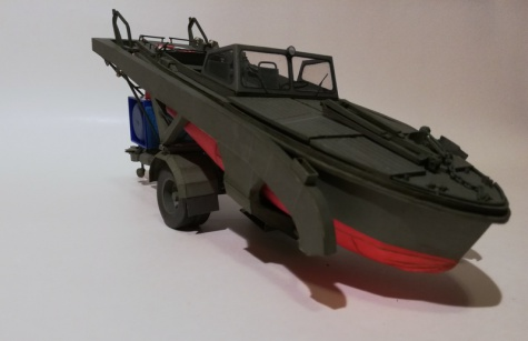 Motorový čln MO-634 + SP-5