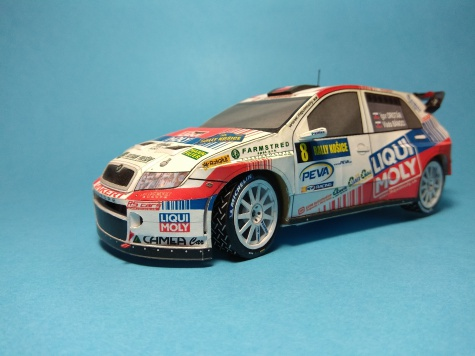 Skoda Fabia WRC EVO II.