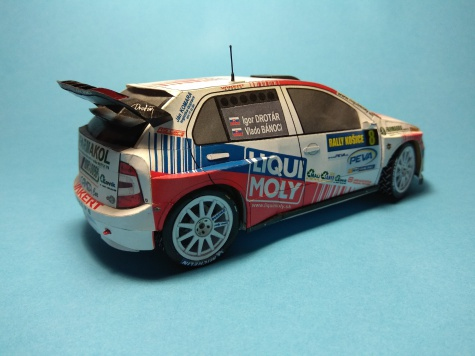 Škoda Fabia WRC EVO II.