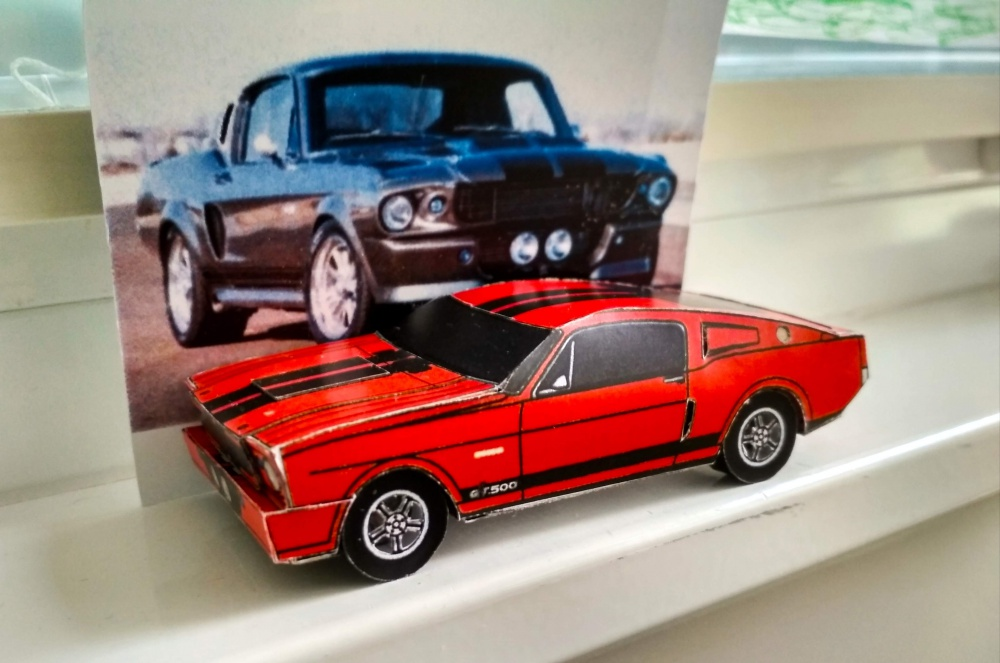 mustang shelby 1968