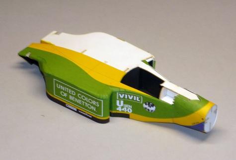 Benetton B192 - Martin Brundle - GP Belgie 1992