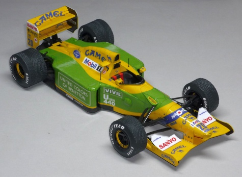 Benetton B192 - Martin Brundle - GP Belgie 1992
