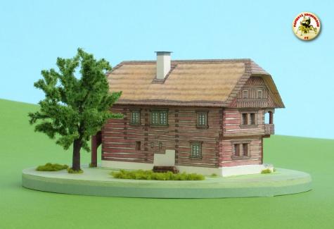 Roubený dům z Jičínska
