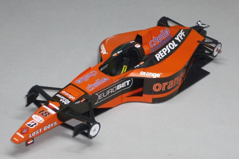 Arrows A21 - Pedro de la Rosa - 2000