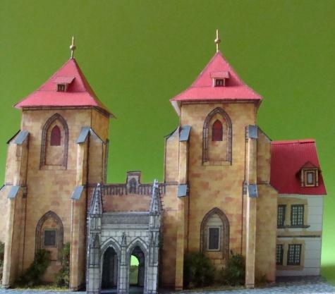 brána kostela Sv.Marie Pod řetězem