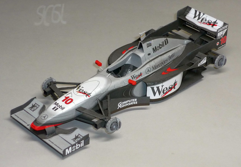 McLaren MP4/12 - David Coulthard - GP Australie 1997