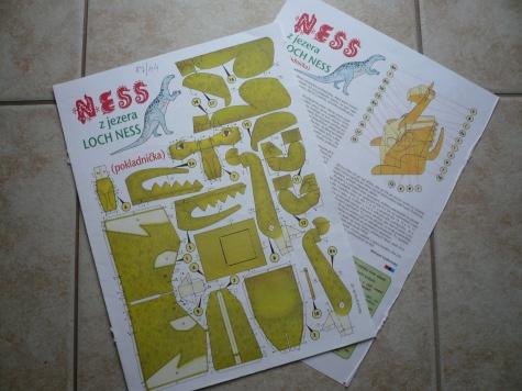NESS z jezera Loch Ness
