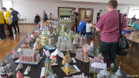 Medzinárodná súaž a výstava papierových modelov, TRNAVA, 11. máj 2019