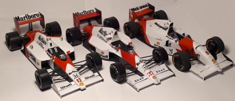 Mclaren MP4-5B - Ayrton Senna