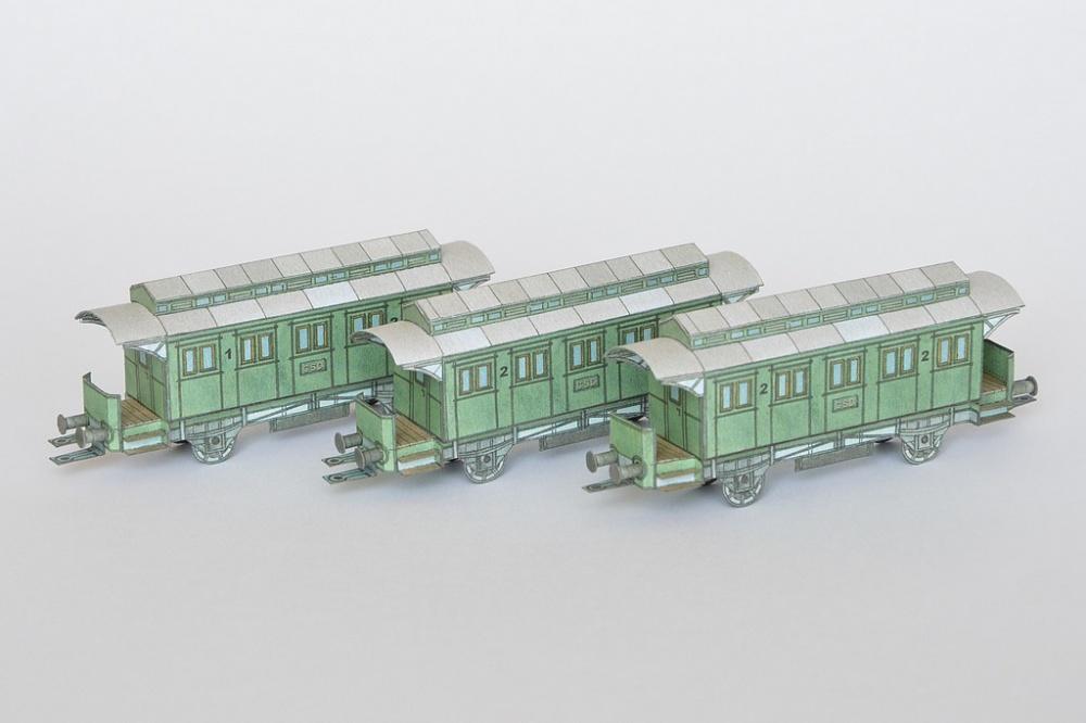 Nádraží a vlak z počátku 20. století