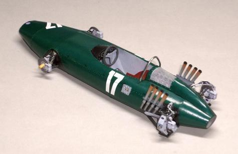 B.R.M. P57 - Graham Hill - GP Nizozemí - 1962