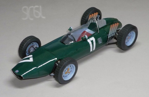 B.R.M. P57 - Graham Hill - GP Nizozemí - 1962