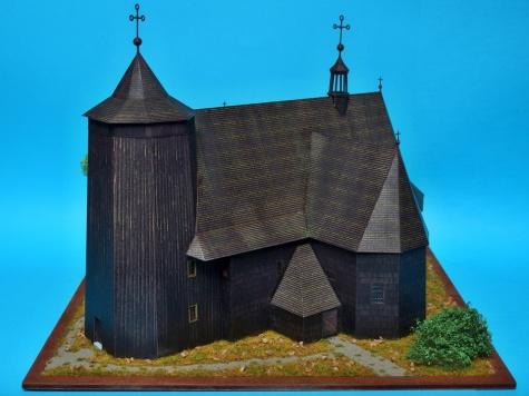 Boronowie - Drewniany koœciół pw. Matki Bożej Królowej Różańca Œwiętego