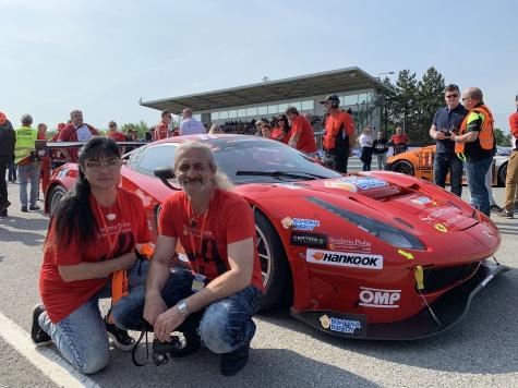 Ferrari 488 GT 3 Scuderia Praha Racing Brno 2019