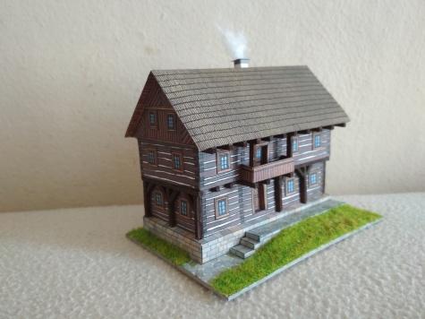Robené stavení z Kokořínska