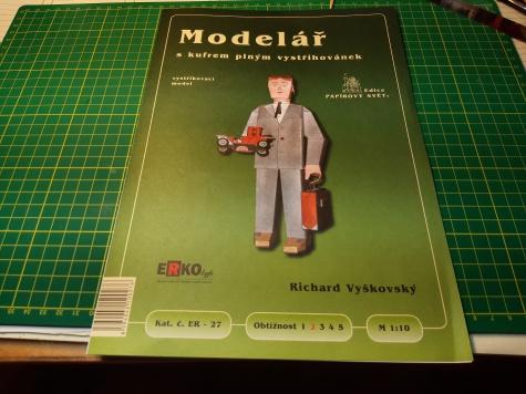 Dárek ke knize - Modelář