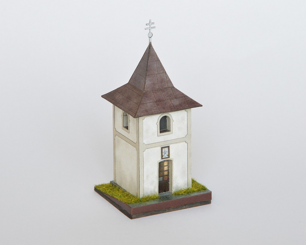 Zvonica v obci Nezbudská Lúčka