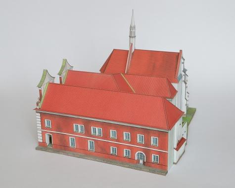 Stará radnice a kostel sv. Víta v Soběslavi