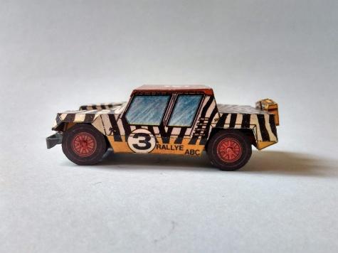 Rallye ABC Gama - Lamborghini Cheetah