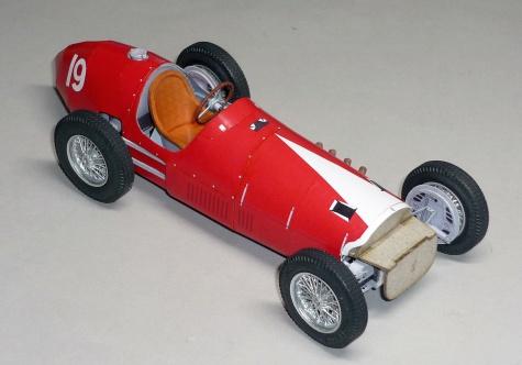 Ferrari 500 - Rudi Fischer - GP V.Británie 1952