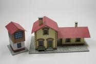 Železnièní stanice a hradlo