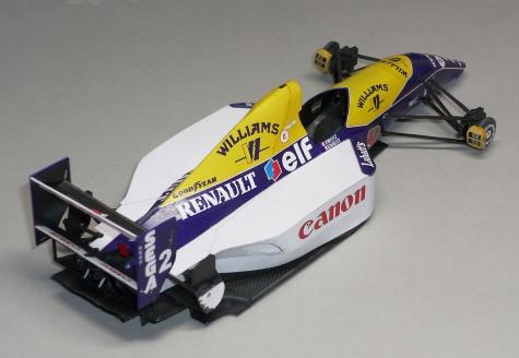 Williams FW15C - Alain Prost - GP Francie 1993