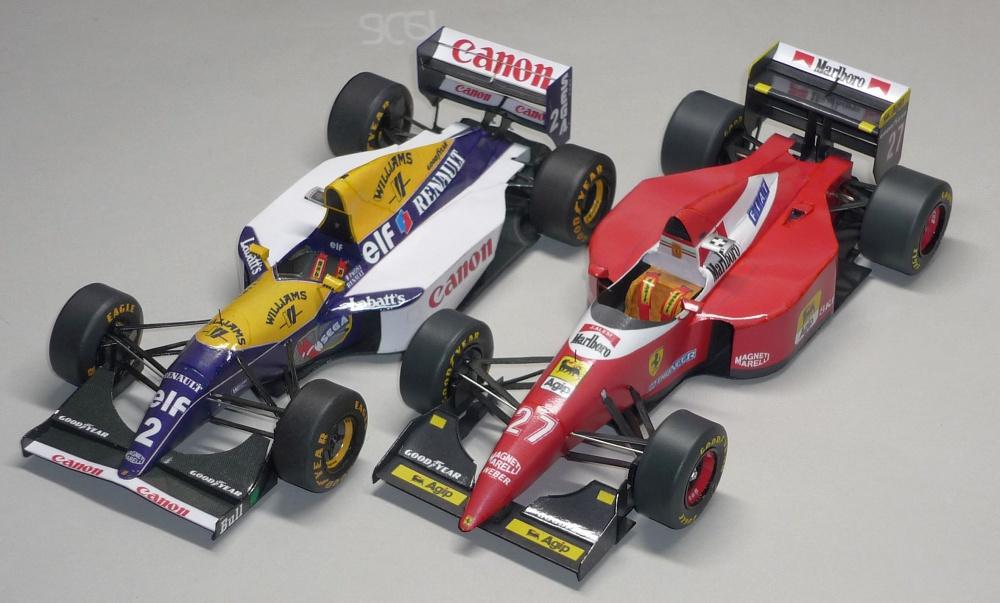 Ferrari F93A - Jean Alesi - GP Monaka 1993