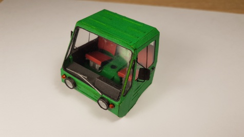 IFA Multicar 25 ramenový nosič kontejnerů