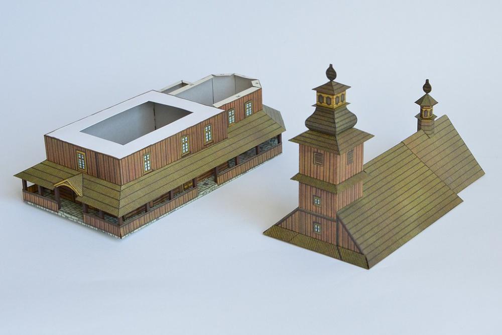 Kostel v Sedlišti a zvonice v Ostrovci