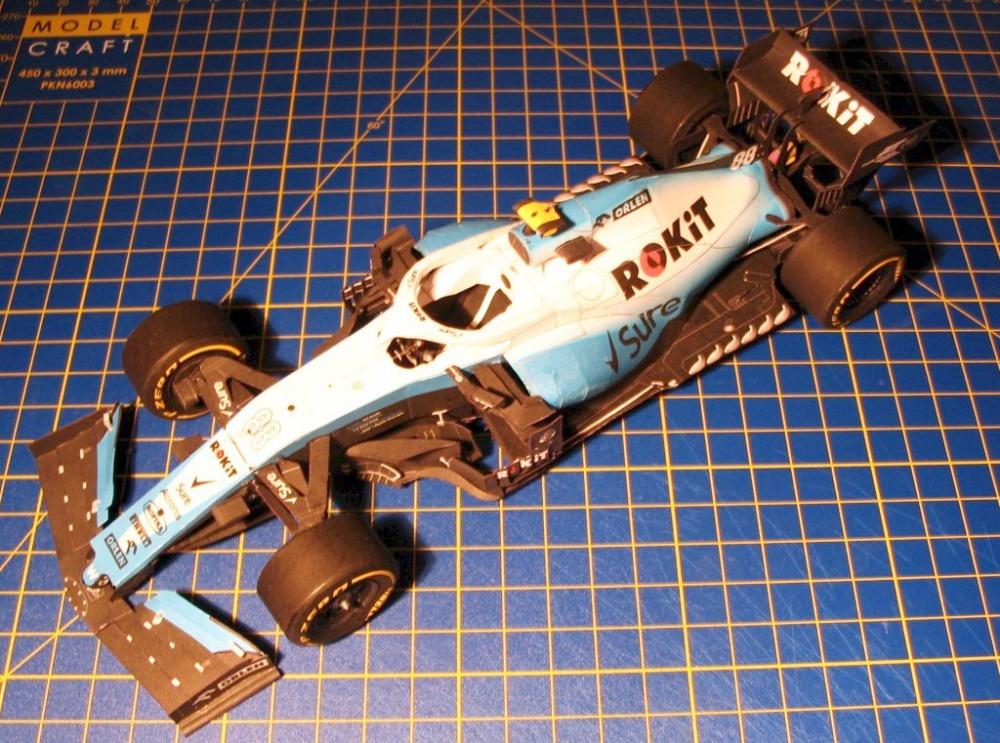 Williams FW42, Silverstone 2019