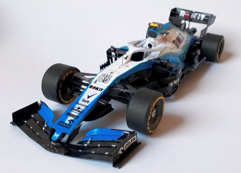 Williams FW42, Silverstone 2019