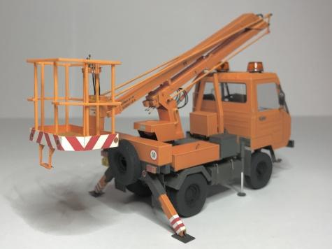 IFA Multicar 25 montazni plosina