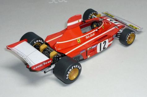 Ferrari 312B3 - Niki Lauda - GP Nizozemí 1974