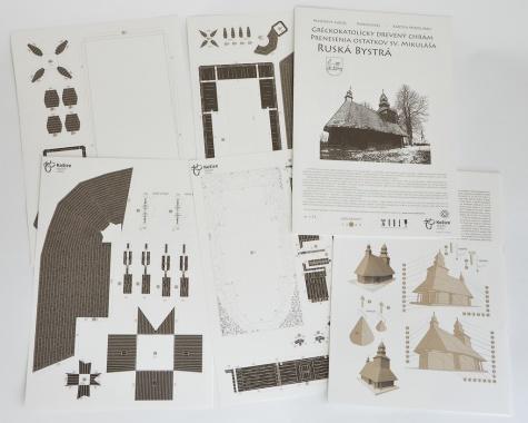 Drevený chrám v Ruskej Bystrej